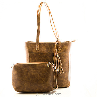 Luxury Brown Shoulder Bag at Kapruka Online for specialGifts