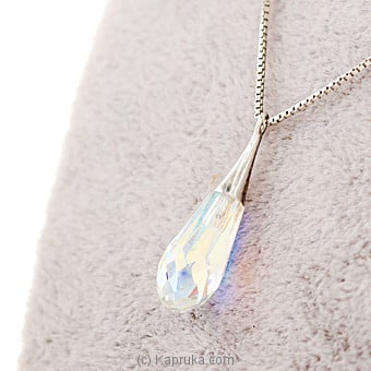 Teardrop Crystal  Necklace at Kapruka Online for specialGifts