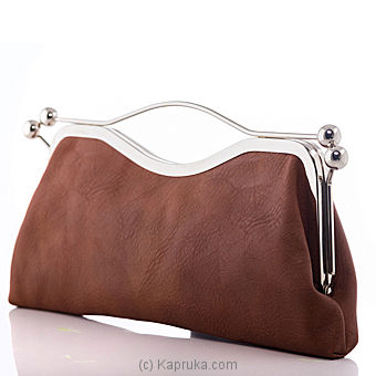 Stylish Brown Ladies Clutch at Kapruka Online for specialGifts
