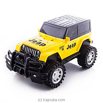 Yellow Sports Jeep at Kapruka Online for specialGifts