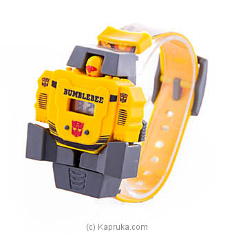 Bumblebee Deformable Kids Watch at Kapruka Online for specialGifts