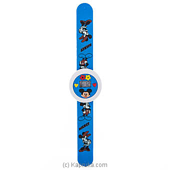 Mickey Mouse Blue Slap Watchat Kapruka Online forspecialGifts
