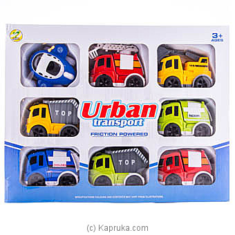 Urban Friction Powered Construction Truck Set at Kapruka Online for specialGifts