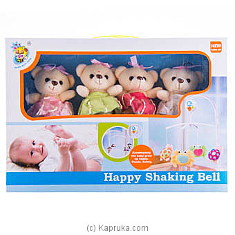 Happy Teddy Shaking Bell at Kapruka Online for specialGifts
