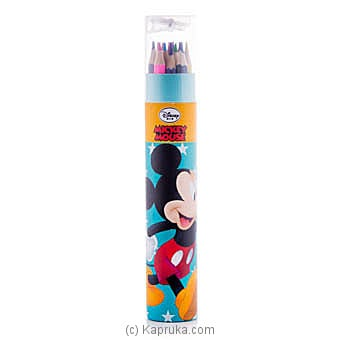Mickey Mouse 12 Color Pencils at Kapruka Online for specialGifts