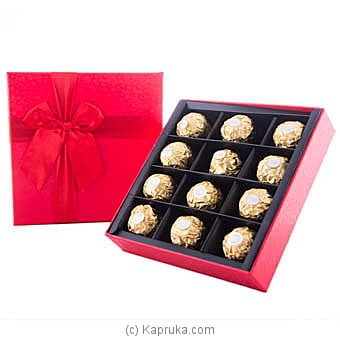 Love You Forever 12 Piece Ferrero Chocolate Gift Box at Kapruka Online for specialGifts
