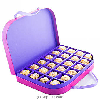 Purple Delight 24 Piece Ferrero Chocolate Box By Ferrero Rocher at Kapruka Online forspecialGifts