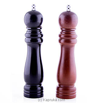 Wooden Salt And Pepper Grinder Wooden Mill Set By HABITAT ACCENT at Kapruka Online forspecialGifts