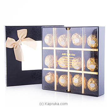 Sweet Kisses 12 Piece Ferrero Chocolate Gift Box at Kapruka Online for specialGifts