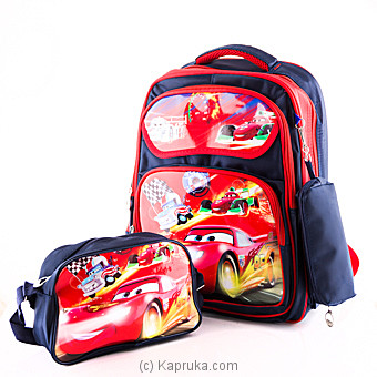 Lightning McQueen School Bag at Kapruka Online for specialGifts