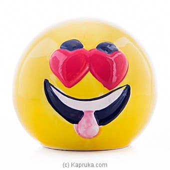 Smiling Face With Heart-eyes Money Bank at Kapruka Online for specialGifts