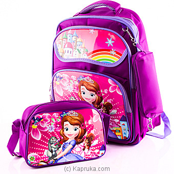 Sofia The First School Bag at Kapruka Online for specialGifts