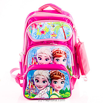 Frozen Elsa Anna School Bag at Kapruka Online for specialGifts