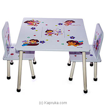 Dora The Explorer Table And Chair Set at Kapruka Online for specialGifts