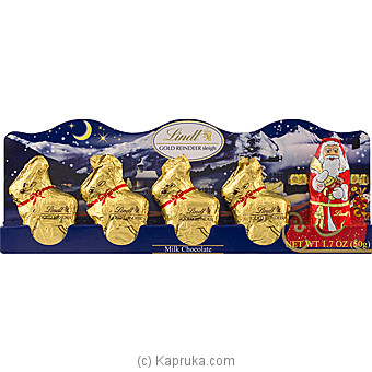 Mini Reindeer Sleigh Perforation- 5x10g at Kapruka Online for specialGifts