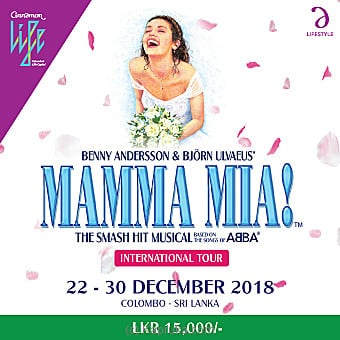 Mamma Mia The Smash Hit Musical Show - Rs 15000 at Kapruka Online for specialGifts