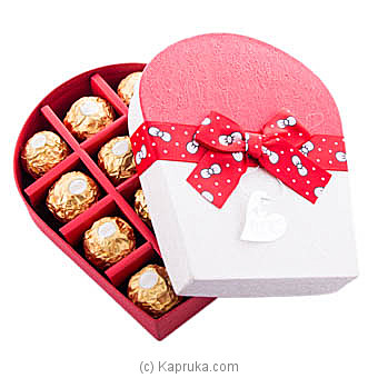Sweet Romance 12 Piece Ferrero Chocolate Gift Box at Kapruka Online for specialGifts