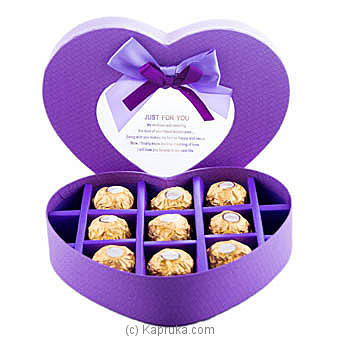 Tender Heart  9 Piece Ferrero Chocolate Gift Box at Kapruka Online for specialGifts