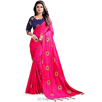 Stylish Embroidered Bollywood Saree at Kapruka Online for specialGifts