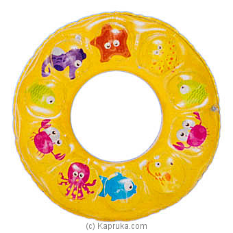 Inflatable Children Swim Ring- Yellow at Kapruka Online for specialGifts