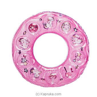 Inflatable Children Swim Ring- Pink at Kapruka Online for specialGifts