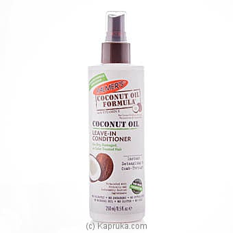 Palmer`s Coconut Oil Leave In Conditoner 250ml at Kapruka Online for specialGifts