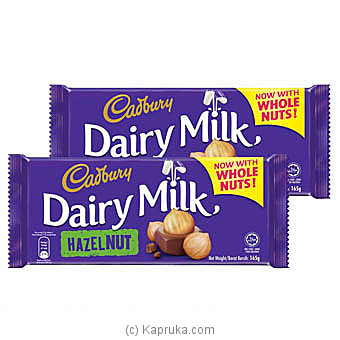 Cadbury Dairy Milk Hazel Nut 165g at Kapruka Online for specialGifts