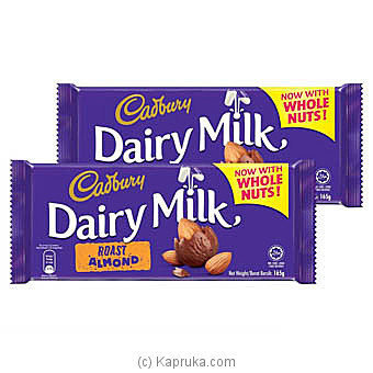 Cadbury Dairy Milk Roast Almond 165g at Kapruka Online for specialGifts