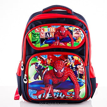 Spider Man School Bag at Kapruka Online for specialGifts