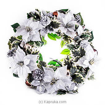 Holiday Tradition Silver Wreath at Kapruka Online for specialGifts