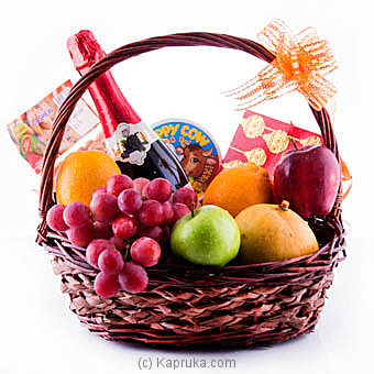 Festival Celebration Fruits And Goodies Basket at Kapruka Online for specialGifts