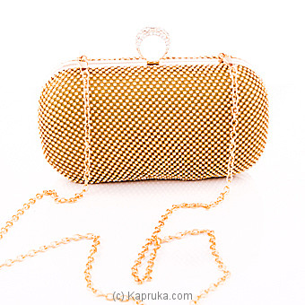 Glittery Ladies Gold Clutch at Kapruka Online for specialGifts