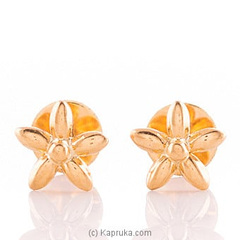 22K Gold Ear Stud Set at Kapruka Online for specialGifts