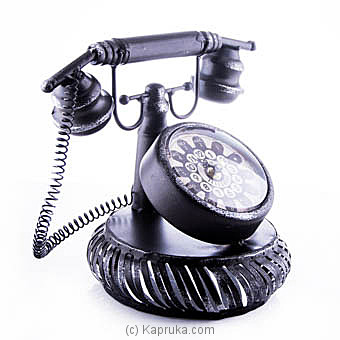 Vintage Rotary Telephone Clock at Kapruka Online for specialGifts