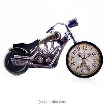 Classic Motorbike Clock at Kapruka Online for specialGifts