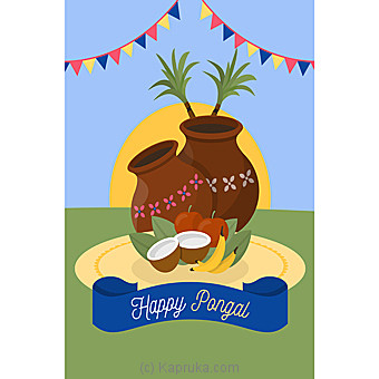 Thai Pongal Greeting Card at Kapruka Online for specialGifts