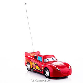 Lightning McQueen Red Remote Racing Car at Kapruka Online for specialGifts