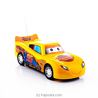 Lightning McQueen Yellow Remote Racing Car at Kapruka Online for specialGifts