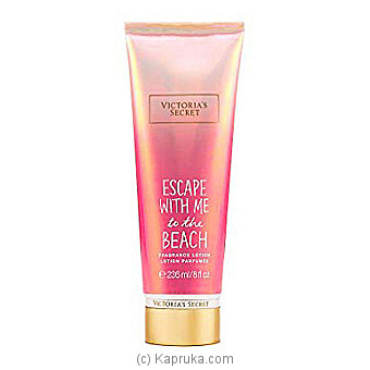 Victoria`s Secret Fragrance Lotion Escape With Me To The Beach By VICTORIA SECRET at Kapruka Online forspecialGifts
