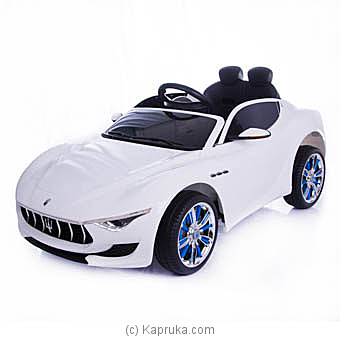 Maserati Levante Kids Ride On Car at Kapruka Online for specialGifts
