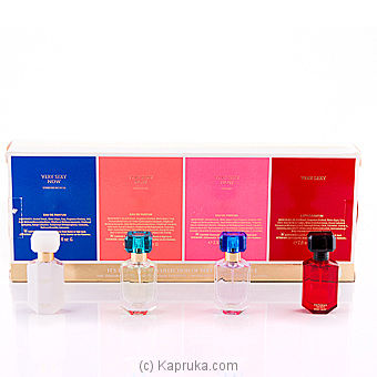Victoria`s Secret Very Sexy Collection Eau De Parfum 4-Piece Gift Set at Kapruka Online for specialGifts