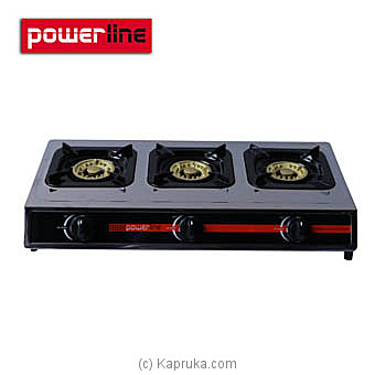 Powerline Three Burner Gas Cooker PL-GCS 3BR at Kapruka Online for specialGifts