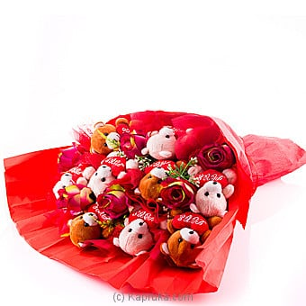 Love Teddy Bunch at Kapruka Online for specialGifts
