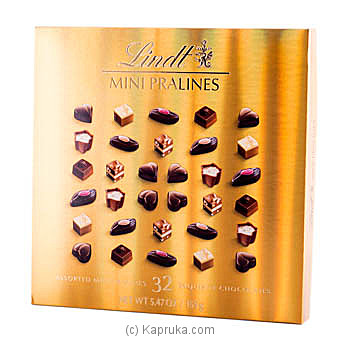 Lindor Mini Pralines Gold  -155g at Kapruka Online for specialGifts