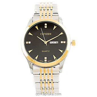 Gold & Silver Mixed Citizen Gents Watch  By CITIZEN at Kapruka Online forspecialGifts