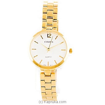 Gold Citizen Ladies Watch at Kapruka Online for specialGifts