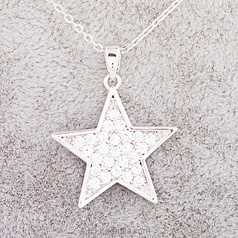 Star Stone Pendant With Necklace  at Kapruka Online for specialGifts