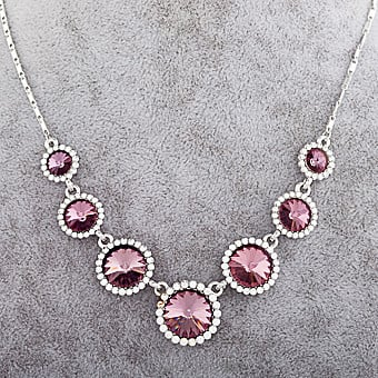 Purple Crystal Necklace at Kapruka Online for specialGifts