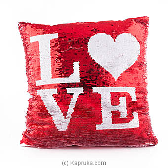 Glittery Love Cuddly Pillow at Kapruka Online for specialGifts