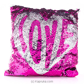 Touch Of Love Glittery Pillow at Kapruka Online for specialGifts